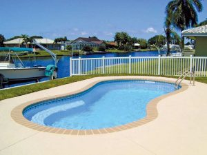 Fiberglass Pool - Sea Cove
