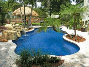 Fiberglass Pool - Natural Blue Isle